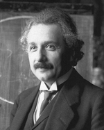 Albert Einstein in the year 1921